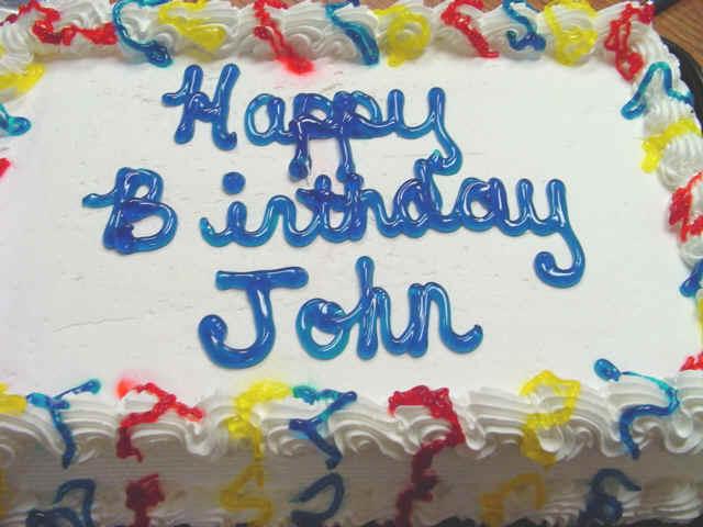Happy Birthday Singers Cake