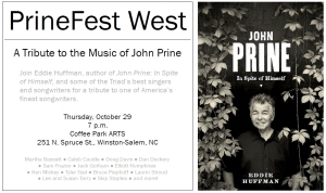 PrineFest West tribute poster 10-22-2015