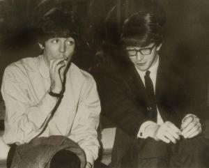 Peter Asher and Paul McCartney